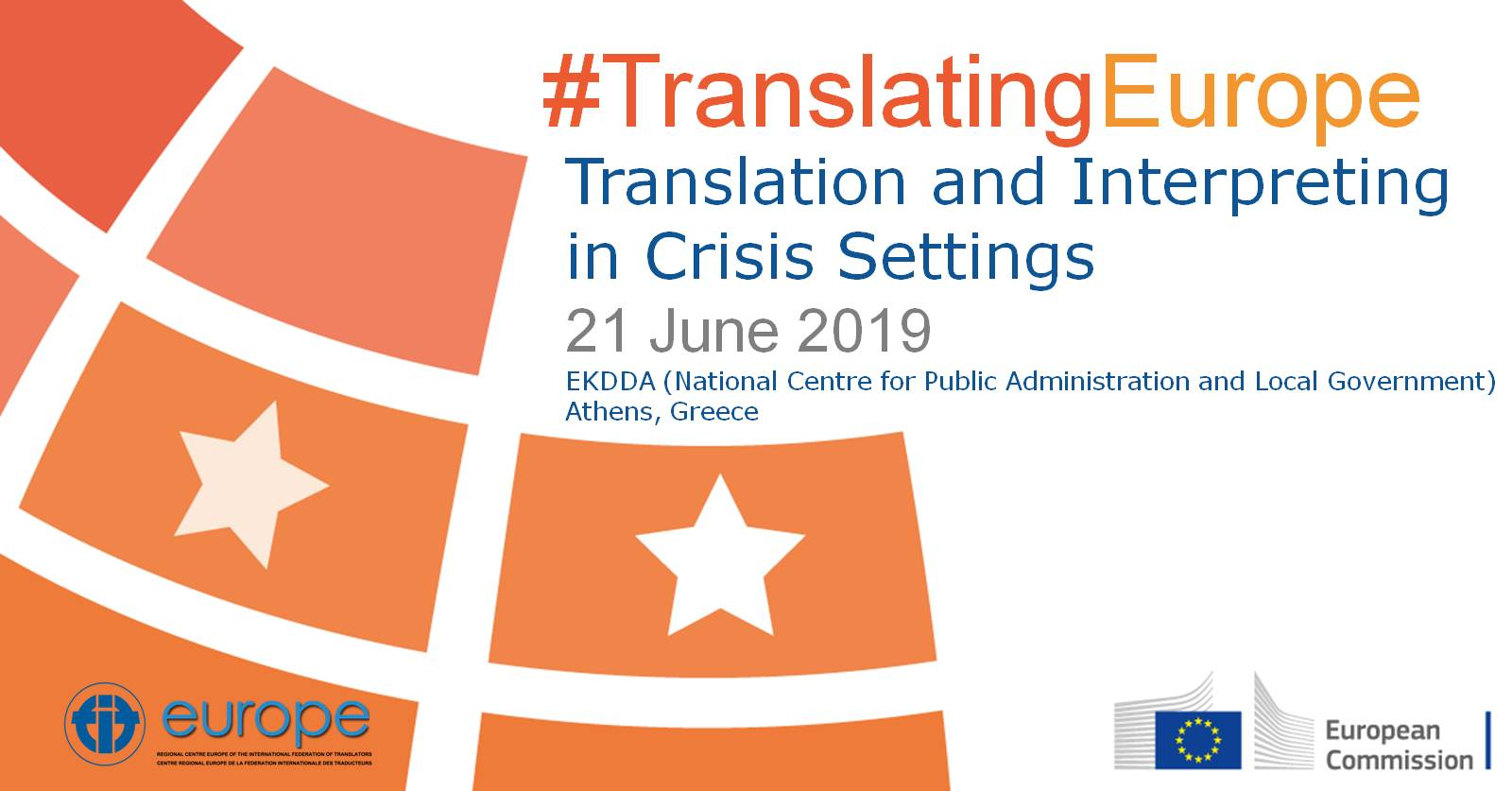 Translation and Interpreting in Crisis Settings